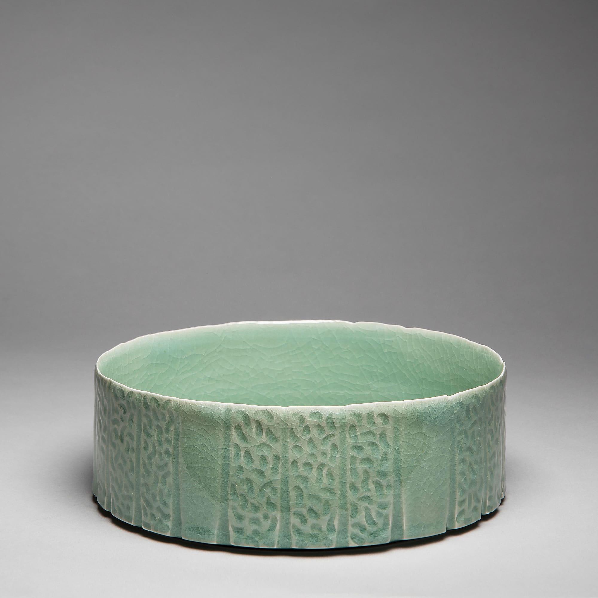 Marie-Laure Guerrier, bassin en porcelaine émaillée 5