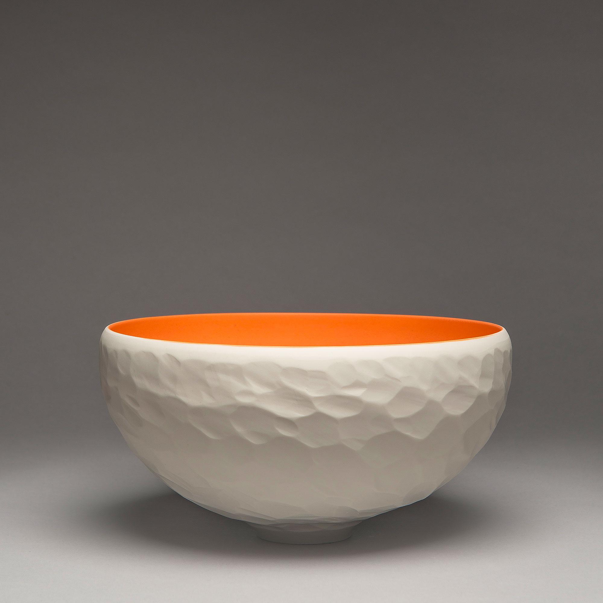 Marie-Laure Guerrier, coupe en porcelaine engobée 3