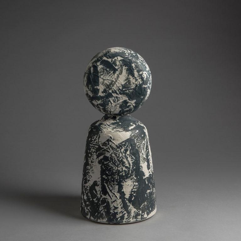 """Marie-Laure Guerrier, sculpture """"Between"""" 14"""