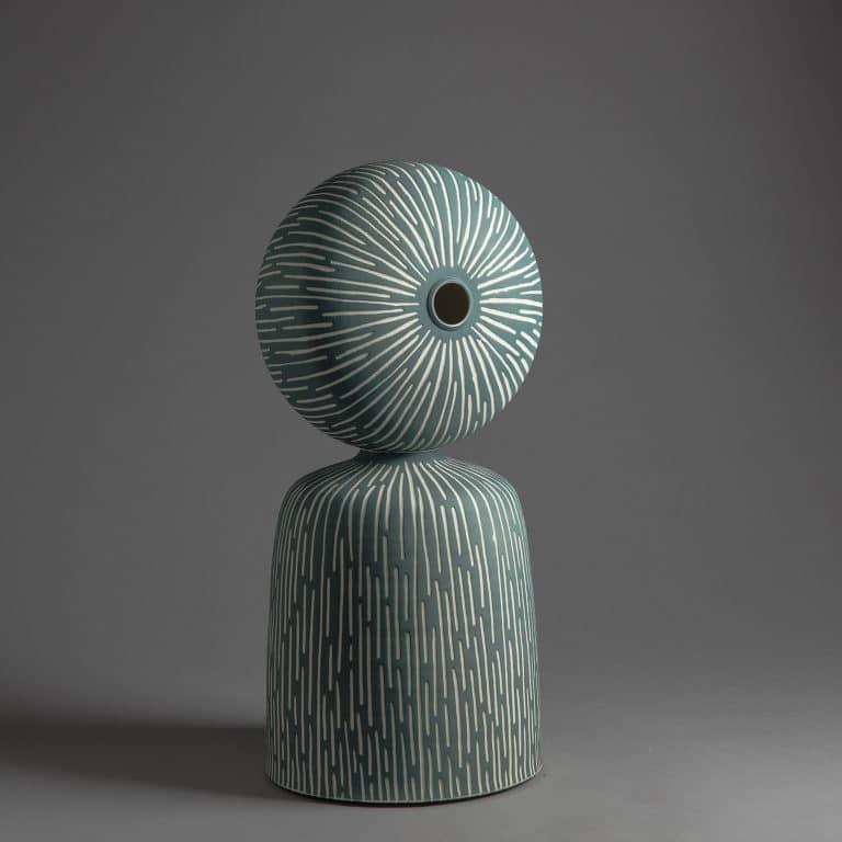 """Marie-Laure Guerrier, sculpture """"Between"""" 16"""