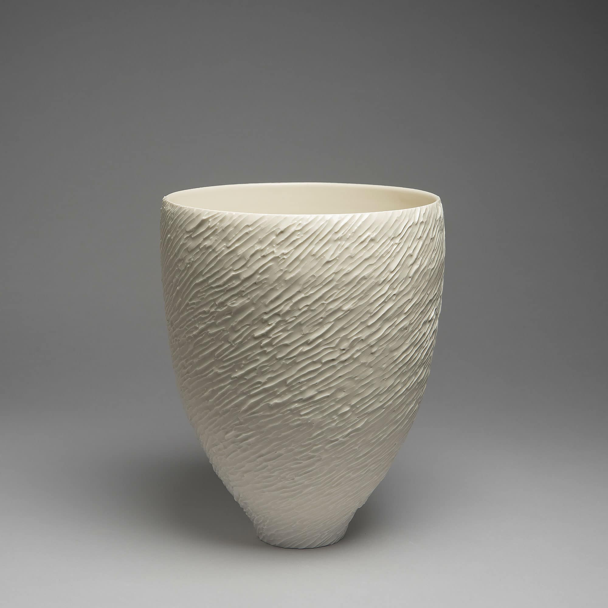 Marie-Laure Guerrier, vase en porcelaine émaillée 2
