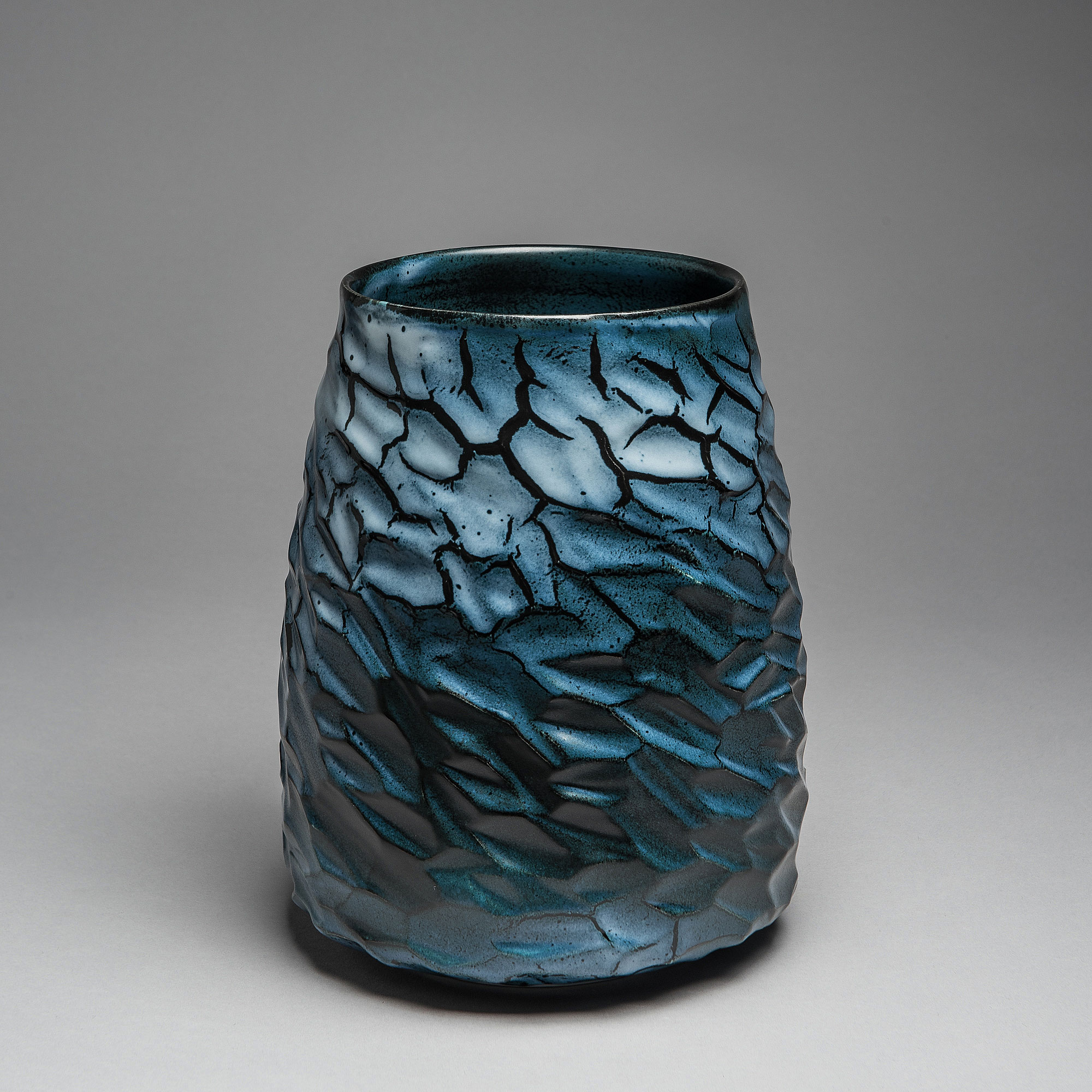 Marie-Laure Guerrier, vase en porcelaine émaillée 5