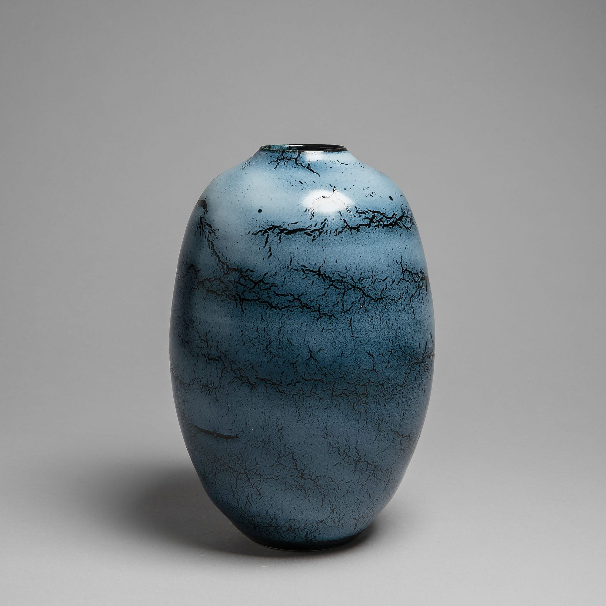 Marie-Laure Guerrier, vase en porcelaine émaillée 6